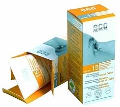 Fragrances, Perfumes, Cosmetics Pomegranate & Sea Buckthorn Sun Cream SPF 15 - Eco Cosmetics Suntan Cream SPF 15