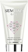 Fragrances, Perfumes, Cosmetics Hand Peeling - Semilac Care Hand Peeling