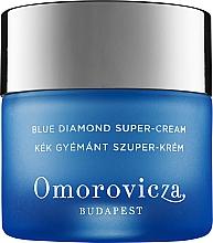Fragrances, Perfumes, Cosmetics Anti-Aging Face Cream - Omorovicza Blue Diamond Supercream