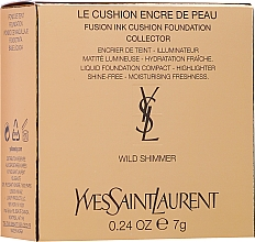 Fragrances, Perfumes, Cosmetics Cushion Foundation Highlighter - Yves Saint Laurent Mini Cushion Highlighter Holiday Edition