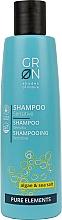 Fragrances, Perfumes, Cosmetics Hair Shampoo 'Algae and Sea Salt' - GRN Pure Elements Sensitive Algae & Sea Salt Shampoo