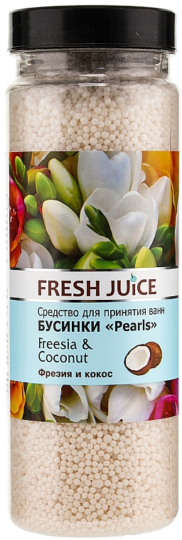 Bath Beads - Fresh Juice Bath Bijou Rearls Freesia and Coconut