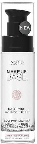Oil-Free Mattifying Base - Ingrid Cosmetics Make-up Base Mattifying & Anti-Pollution