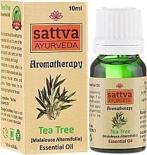 """Fragrances, Perfumes, Cosmetics Essential Oil """"Tea Tree"""" - Sattva Ayurveda Tea Tree Essential Oil"""