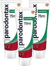 Fragrances, Perfumes, Cosmetics Set - Parodontax Fluoride (t/paste 75m + t/paste 75m + t/paste 75m)