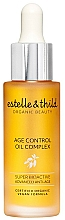 Fragrances, Perfumes, Cosmetics Facial Oil Complex - Estelle & Thild Super Bioactive Age Control Oil Complex