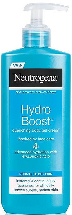Moisturizing Body Cream - Neutrogena Hydro Boost Quenching Body Gel Cream
