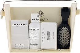 Fragrances, Perfumes, Cosmetics Set - Acca Kappa (edp/30ml + b/lotion/100ml + soap/50g + hairbrush)