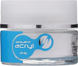 Fragrances, Perfumes, Cosmetics Acrylic Nail Powder, 24g - Silcare Sequent Acryl Pro