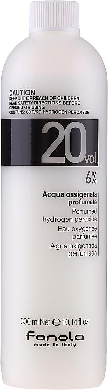 Emulsion Oxidant - Fanola Acqua Ossigenata Perfumed Hydrogen Peroxide Hair Oxidant 20vol 6%