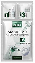 Fragrances, Perfumes, Cosmetics Aloe Vera Mask - Klapp Mask Lab Aloe Vera Moisturizing Mask