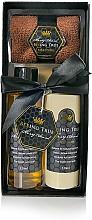 Fragrances, Perfumes, Cosmetics Set - Beeing True (sh/gel 125ml +sh/balm 125ml +towel)