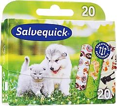 Fragrances, Perfumes, Cosmetics Kids Plasters - Salvequick Animal Planet