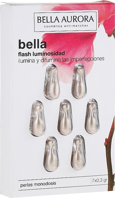 Face Capsules - Bella Aurora Flash Luminosity Facial Treatment