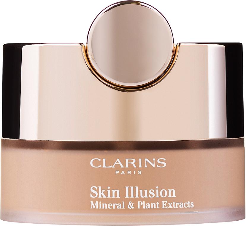 Mineral Loose Powder - Clarins Skin Illusion Loose Powder Foundation