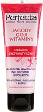 """Fragrances, Perfumes, Cosmetics Enzyme Face Peeling """"Goji Berry and Vitamins"""" - Perfecta"""