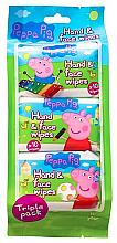 Fragrances, Perfumes, Cosmetics Wet Wipes - Kokomo Peppa Pig Peppa Hand & Face Wipes
