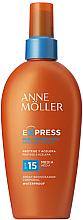 Fragrances, Perfumes, Cosmetics Tan Accelerating Sunscreen Spray - Anne Moller Express Sunscreen Body Spray SPF15