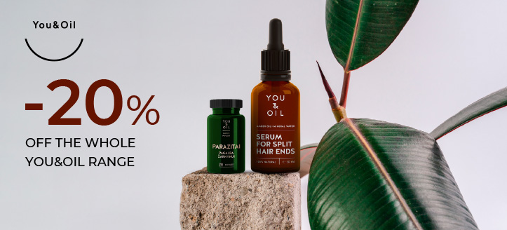 20% off the whole You&Oil range. Prices on the site are indicated with a discount