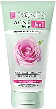 Fragrances, Perfumes, Cosmetics Cleansing Rose Water & Tea Tree Face Gel - Nature Of Agiva Roses Acne Help 3 In 1 Cleansing Face Wash