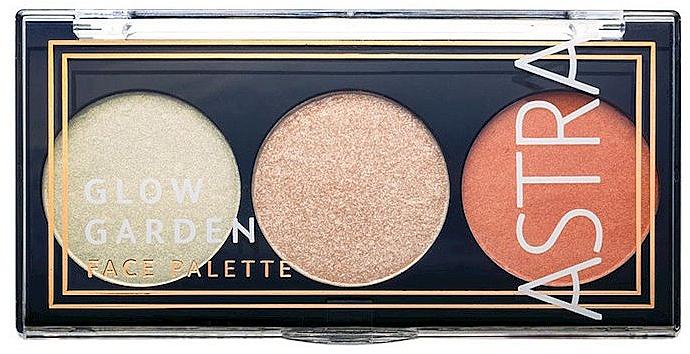 Makeup Palette - Astra Make-Up Glow Garden Face Palette — photo N1