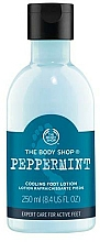 Fragrances, Perfumes, Cosmetics Foot Milk - The Body Shop Peppermint Cooling Foot Lotion