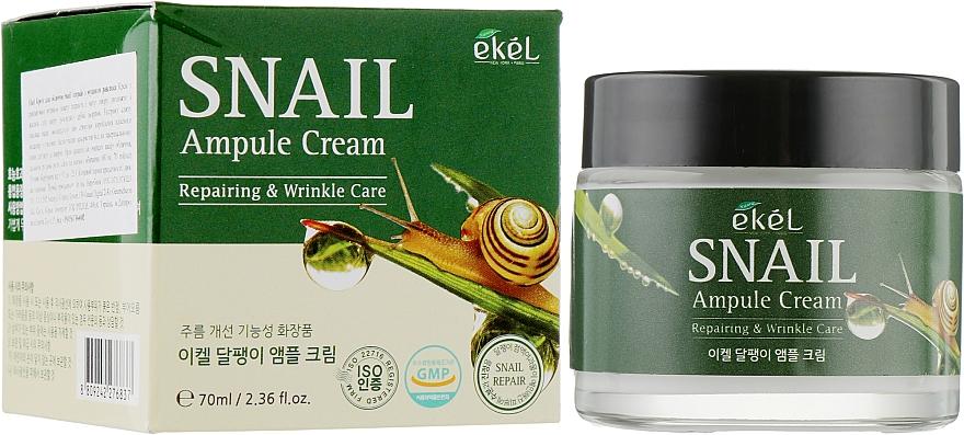 Snail Ampoule Cream for Face - Ekel Snail Ampule Cream