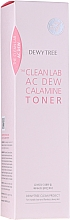 Fragrances, Perfumes, Cosmetics Soothing Calamine Face Toner - Dewytree The Clean Lab AC Dew Calamine Toner