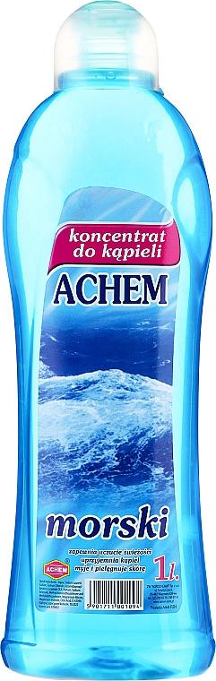 """Liquid Bath Concentrate """"Sea"""" - Achem Concentrated Bubble Bath Sea"""