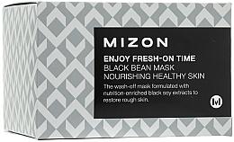 Fragrances, Perfumes, Cosmetics Instant Anti-Wrinkle Black Bean Mask - Mizon Enjoy Fresh On-Time Black Bean Mask