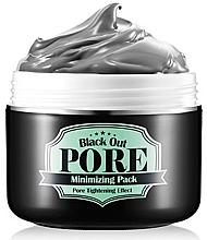 Fragrances, Perfumes, Cosmetics Charcoal Cleansing Pore Mask - Secret Key Black Out Pore Minimizing Pack