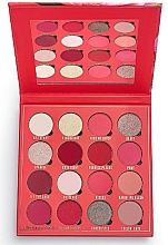 Fragrances, Perfumes, Cosmetics Eyeshadow Palette, 16 shades - Makeup Obsession Kisses Eyeshadow Palette