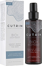 Fragrances, Perfumes, Cosmetics Men Strengthening Scalp Serum - Cutrin Bio+ Energy Boost Scalp Serum For Men