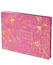 Eye Palette - Astra Make-up Eden Escape Eyeshadow Palette — photo N2