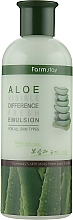 Fragrances, Perfumes, Cosmetics Refreshing Aloe Emulsion - FarmStay Visible Difference Fresh Emulsion Aloe