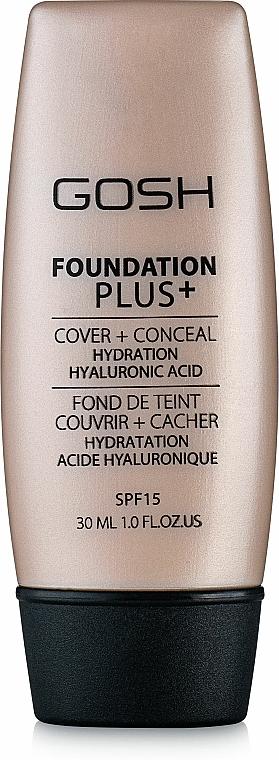 Foundation - Gosh Foundation Plus SPF15