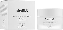 Fragrances, Perfumes, Cosmetics Anti-Aging Night Retinol Cream - Medik8 Night Ritual Vitamin A