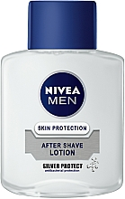 """Fragrances, Perfumes, Cosmetics After Shave Lotion """"Silver Protection"""" - Nivea For Men Silver Protect After Shave Lotion"""
