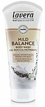 "Fragrances, Perfumes, Cosmetics Shower Gel - Lavera Mild Balance ""Organic Coconut Milk & Organic Chia Seeds"""