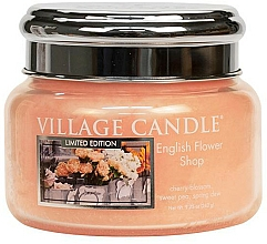 Fragrances, Perfumes, Cosmetics Scented Candle in Jar - Village Candle English Flower Shop Glass Jar