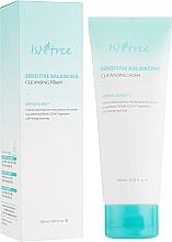 Fragrances, Perfumes, Cosmetics Balancing Foam for Sensitive Skin - IsNtree Sensitive Balancing Cleansing Foam