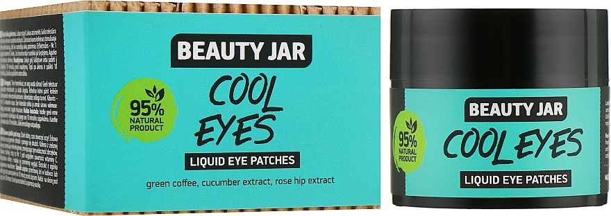 """Eye Patches """"Cool Eyes"""" - Beauty Jar Liquid Eye Patches"""