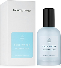 Fragrances, Perfumes, Cosmetics Deep Moisturizing Emulsion - Thank You Farmer True Water Deep Emulsion