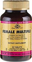Fragrances, Perfumes, Cosmetics Female Vitamin Complex - Solgar Female Multiple
