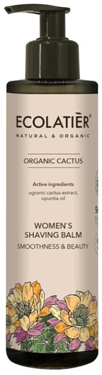 Women Shaving Balm - Ecolatier Organic Cactus Women's Shaving Balm