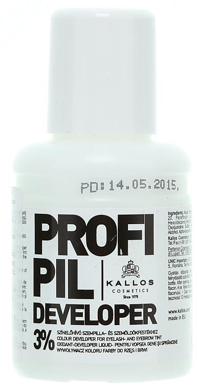 Brow & Lash Color Developer 3% - Kallos Cosmetics Profi Pil Developer 3%