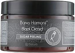 "Fragrances, Perfumes, Cosmetics Body Peeling ""Black Orchid"" - Barwa Harmony Sugar Peeling"