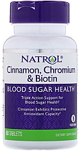 Fragrances, Perfumes, Cosmetics Cinnamon, Chromium & Biotin - Natrol Cinnamon, Chromium & Biotin