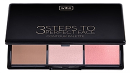Fragrances, Perfumes, Cosmetics Face Contour Kit - Wibo 3 Steps to Perfect