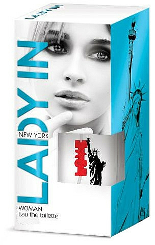 Pharma CF Lady in New York - Eau de Toilette